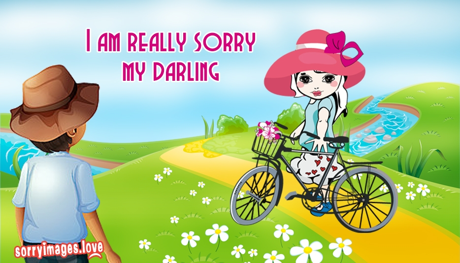 I Am Really Really Sorry My Darling @ SorryImages.Love