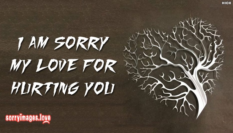 Sorry For Hurting Your Love Quotes