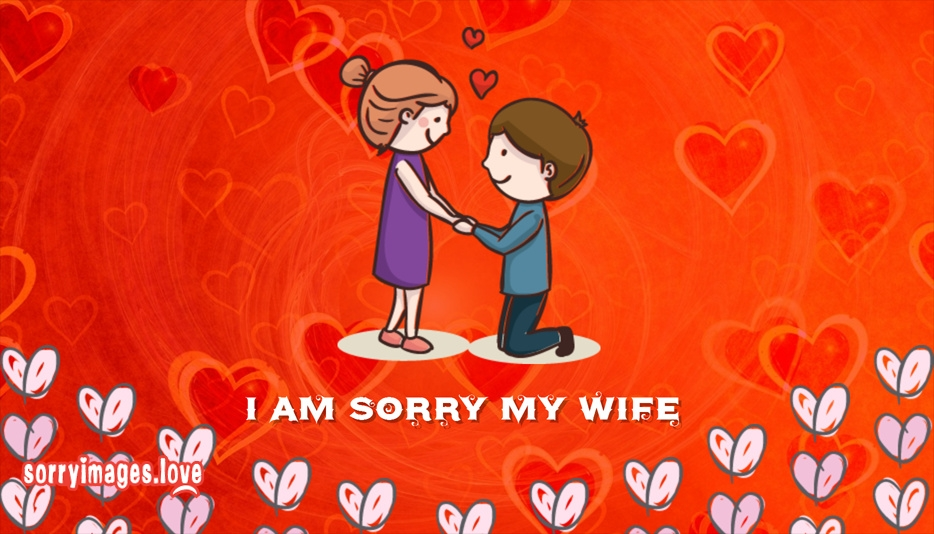 I Am Sorry My Wife
