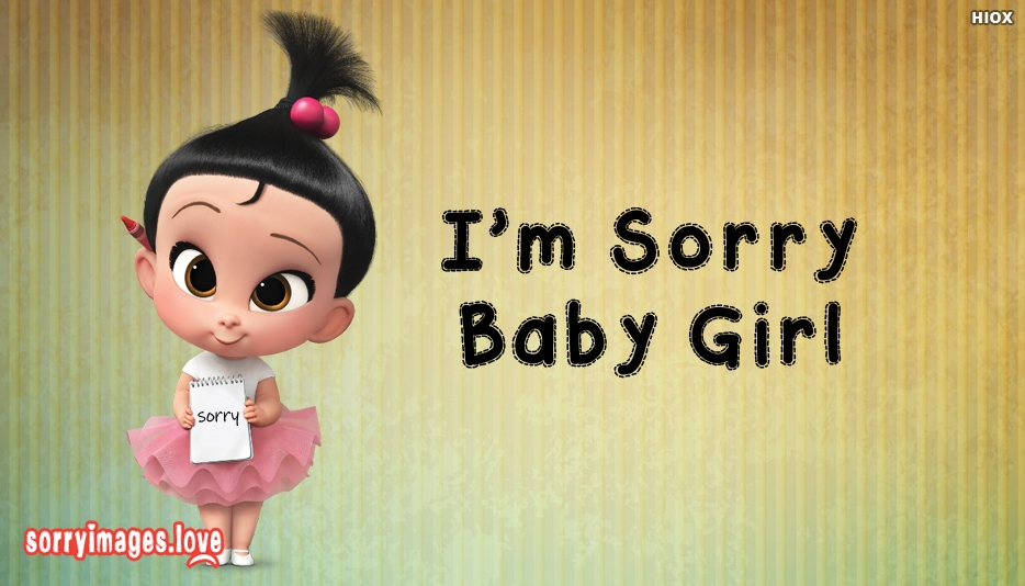Sorry Images for Girl