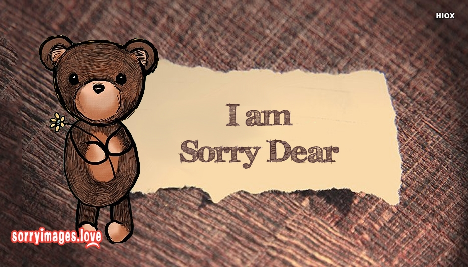 Im Sorry Dear Images