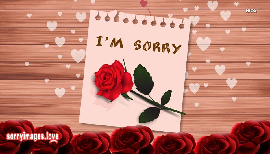 Sorry Images With Roses