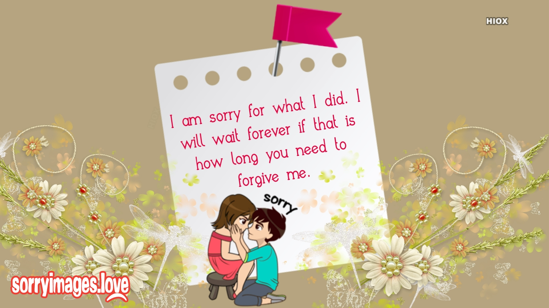 Image Of Love Sorry