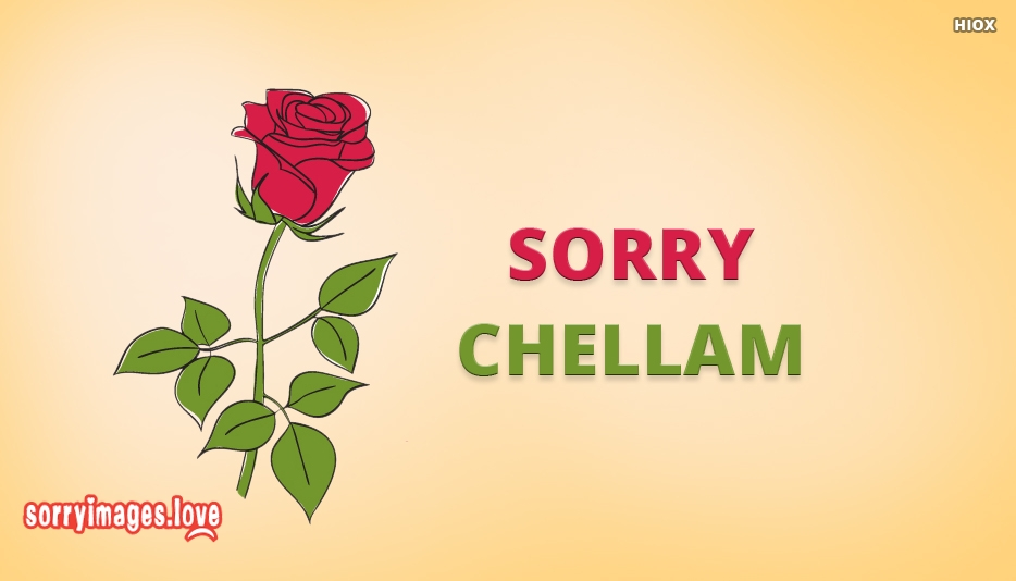 Sorry Chellam - Sorry Chellam Images