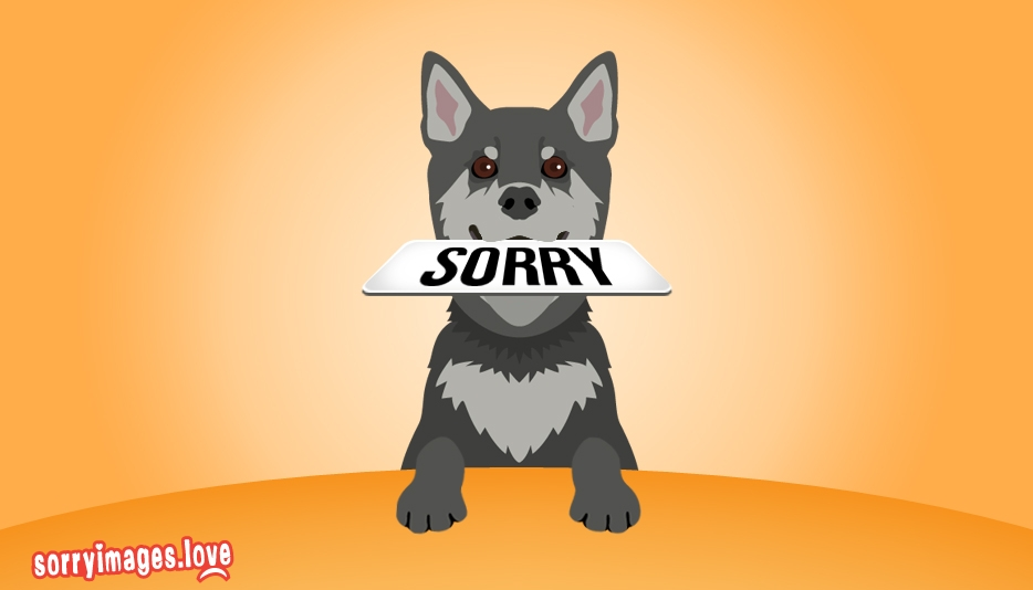 Sorry Dog @ Sorryimages.love