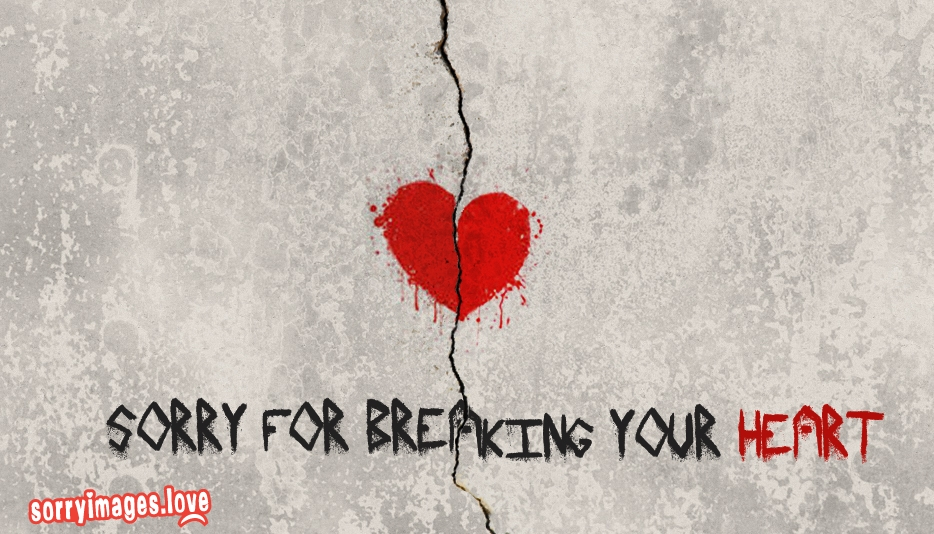Sorry For Breaking Your Heart Quotes