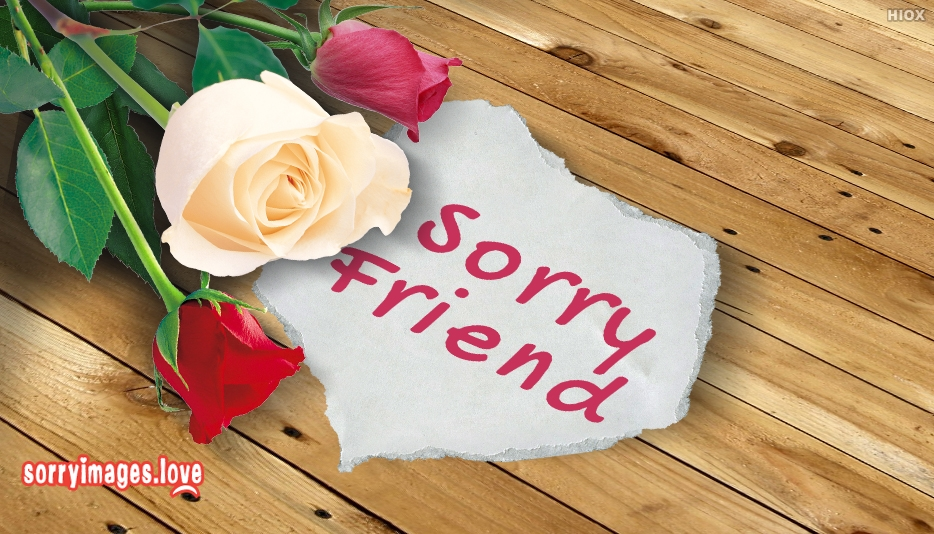 Sorry Greetings For Friend