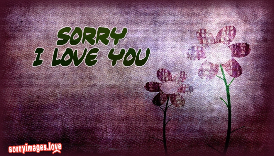 Sorry I Love You @ Sorryimages.Love