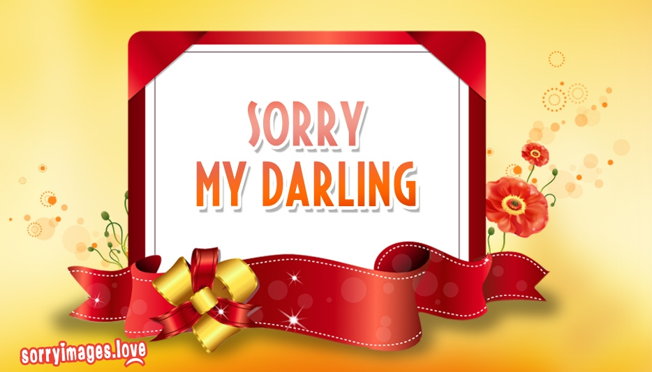 Sorry My Darling Image