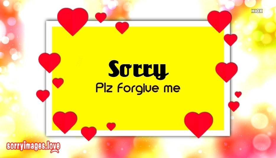 Sorry Image For Special Person