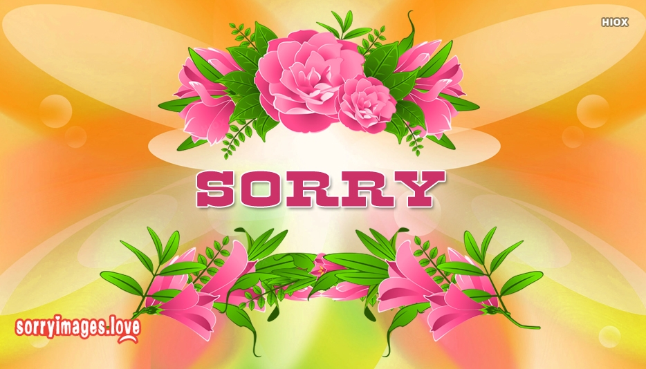 Sorry Image Hd New