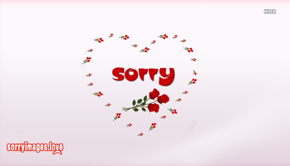 Sorry Image In Love