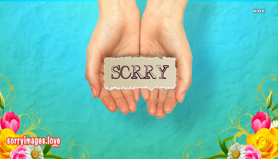 Sorry Images for Expressive