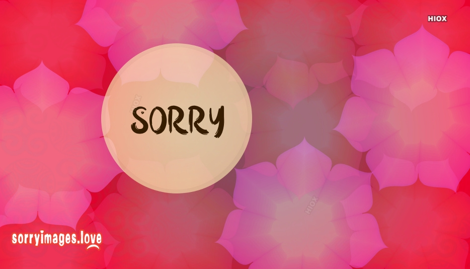 Sorry Images Facebook