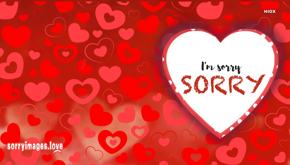 Sorry Images For Fiance