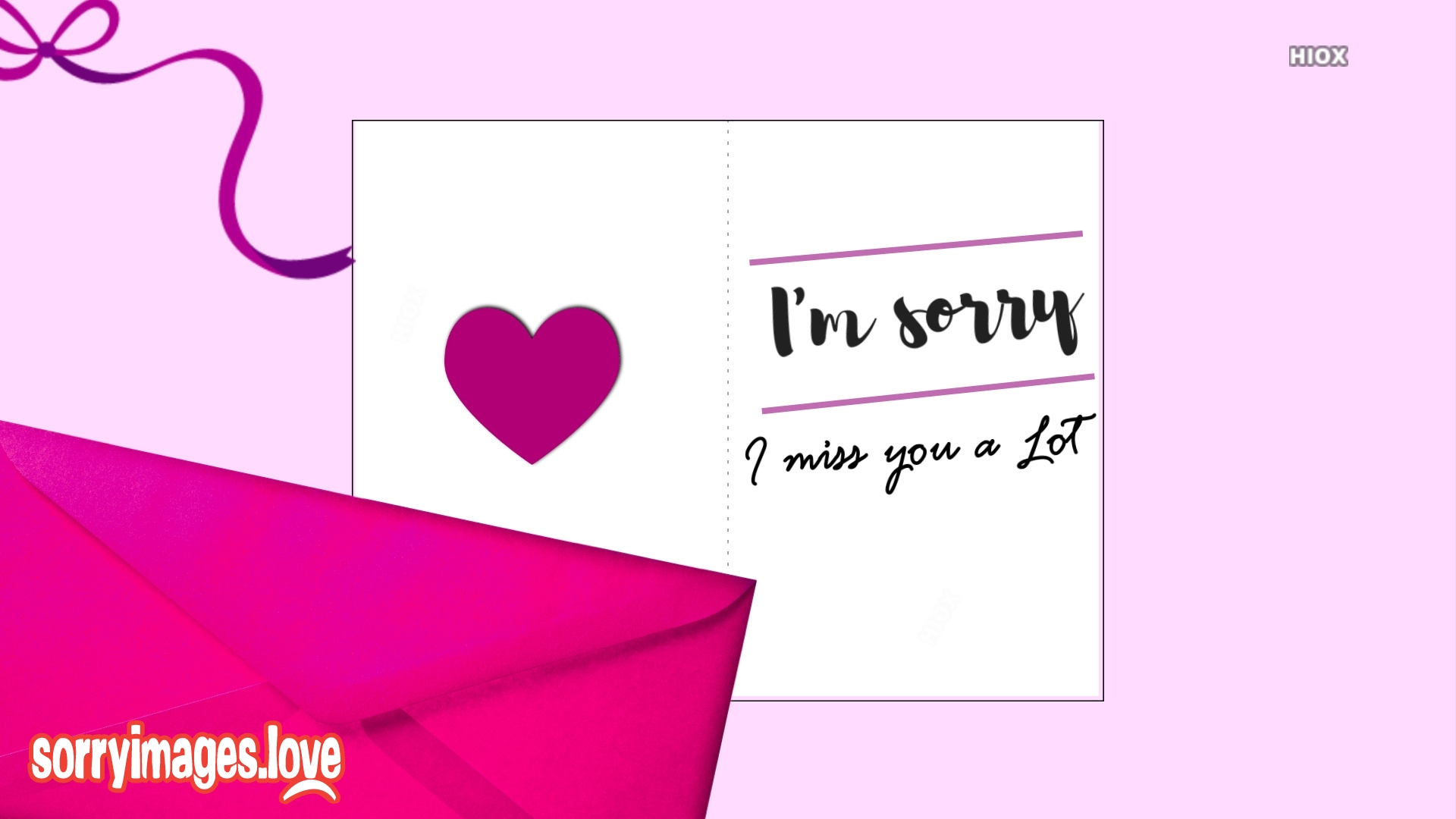 Sorry and Miss You Image To Boyfriend