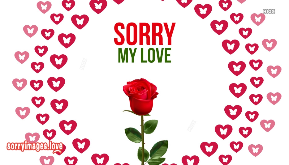 Sorry Images With Love