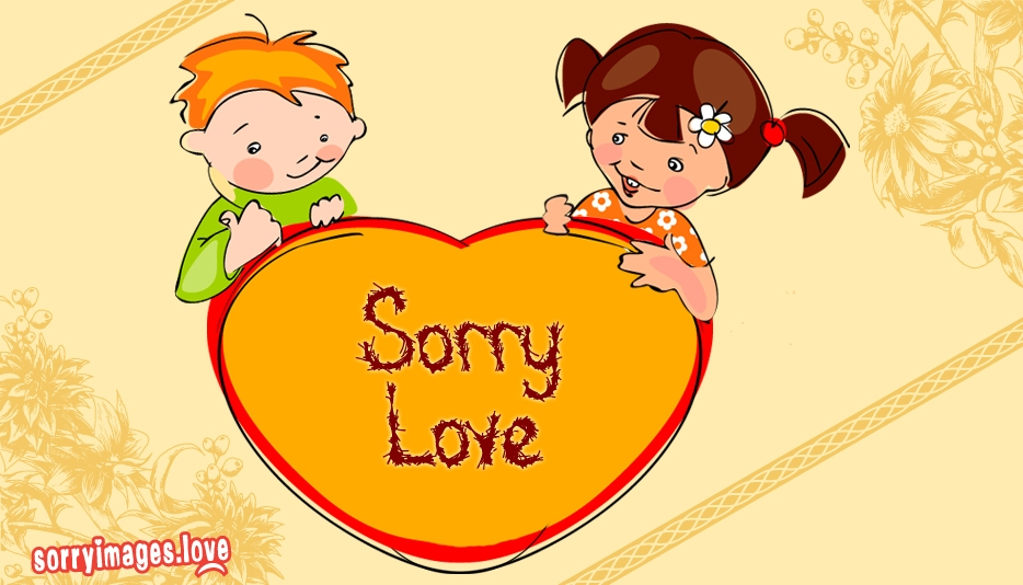 Sorry Love - Sorry Images Love
