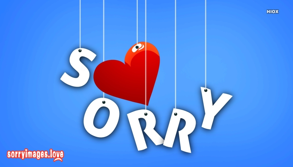Sorry Wallpapers