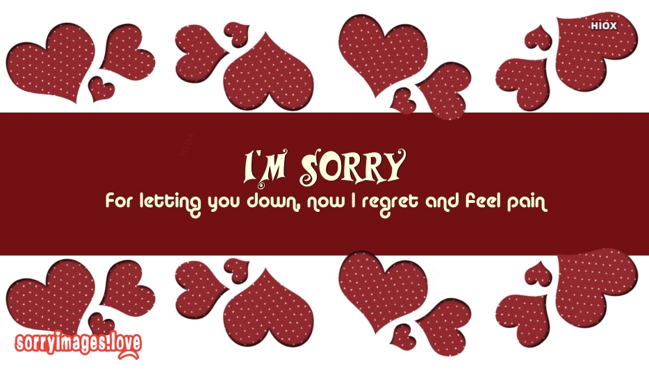 Painful Sorry Images, Pictures