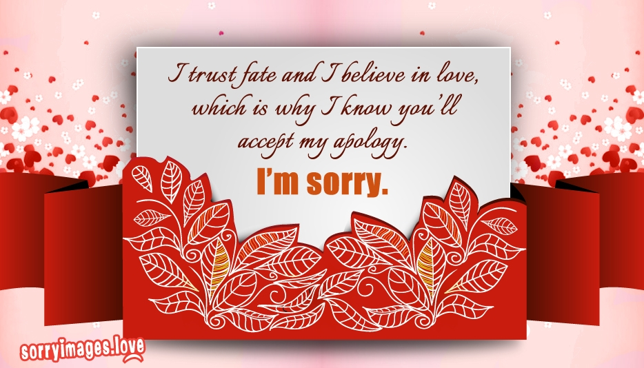 Sorry Message for Her @ Sorryimages.Love