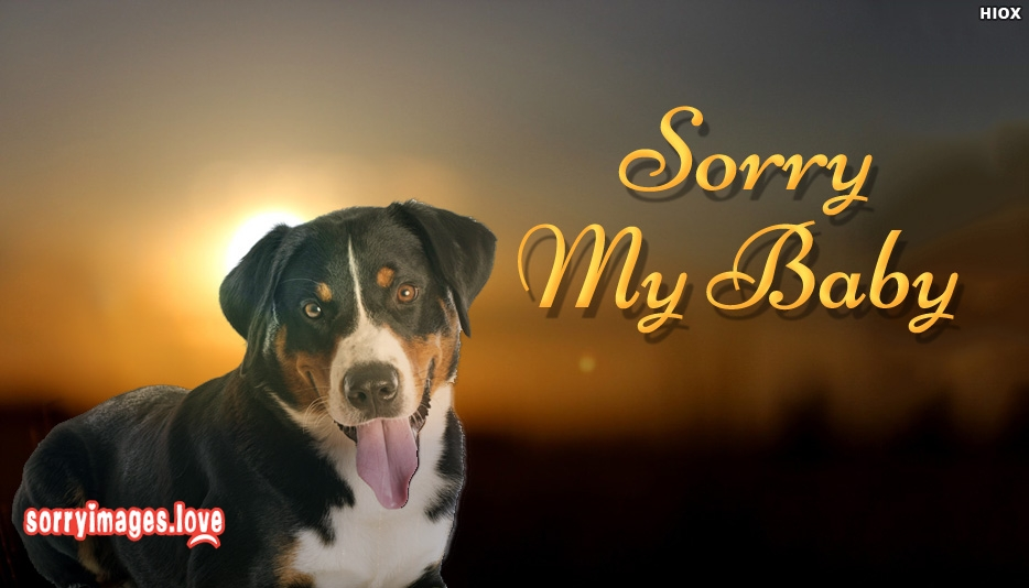 Sorry My Baby - Sorry Images for Girlfriend