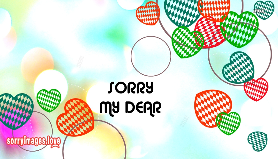 Sorry My Dear Images