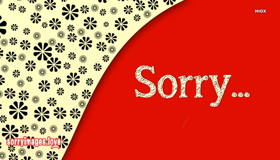 Sorry Photos Download