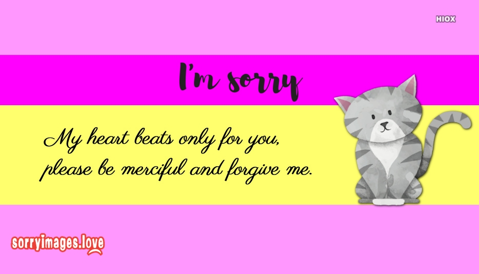 Sorry Quotes For Bf
