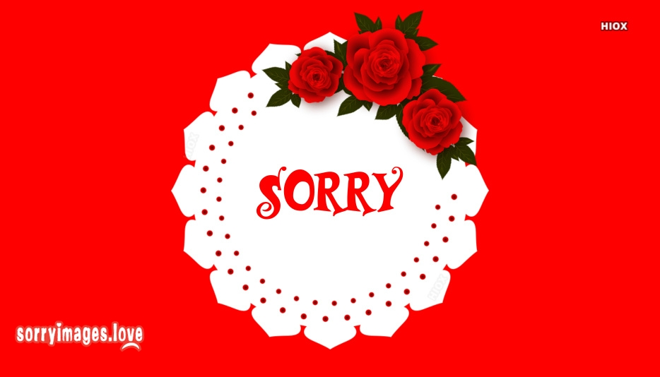 Sorry Roses