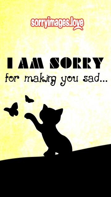 Sorry Sad Quotes