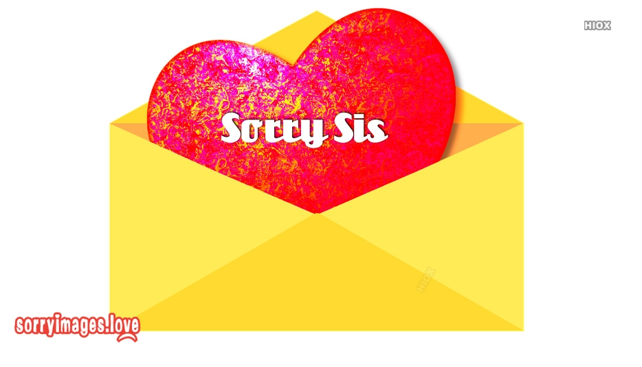 Sorry Sis Quotes, Images