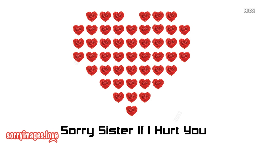 Sorry Sister If I Hurt You