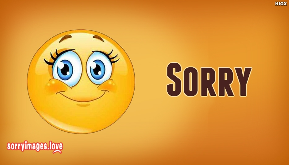 Sorry Smile Image