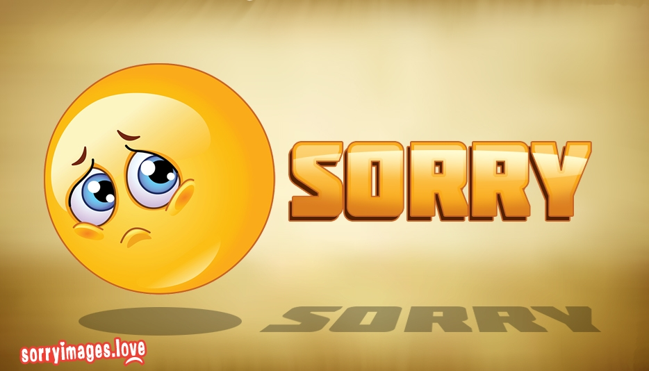 Sorry Smiley Face - Sorry Images for Facebook