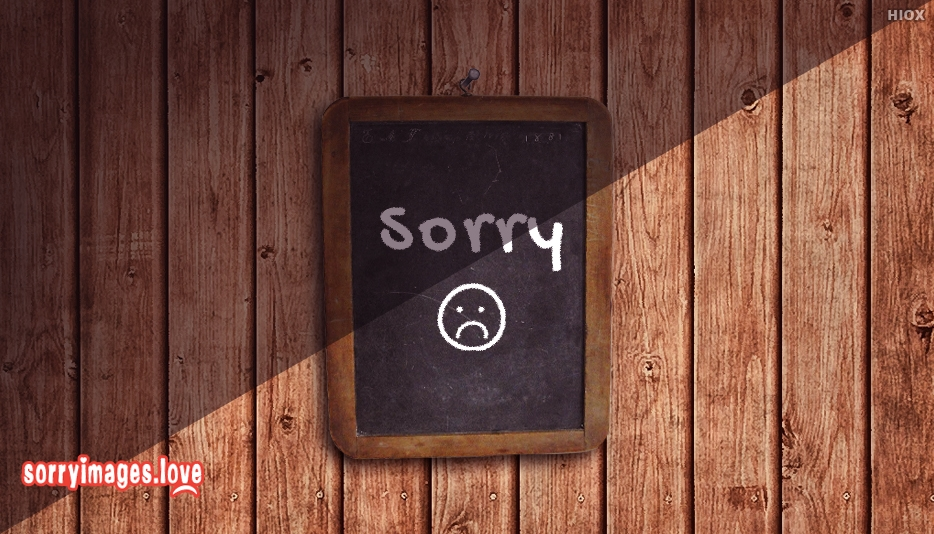 Sorry Smiley Images