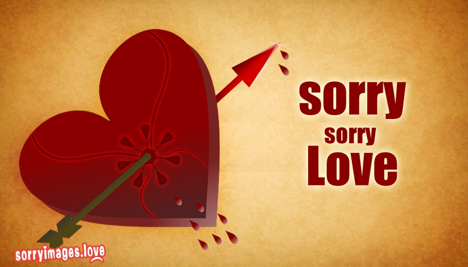 Sorry Sorry Love - Sorry Images for Lover