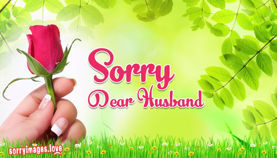 Sorry to Husband - Sorry Images for Hubby