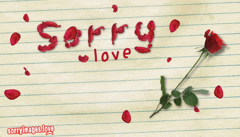 Sorry Wallpaper Love @ Sorryimages.love