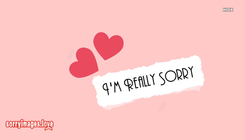 Sorry Wallpapers For Girlfriend