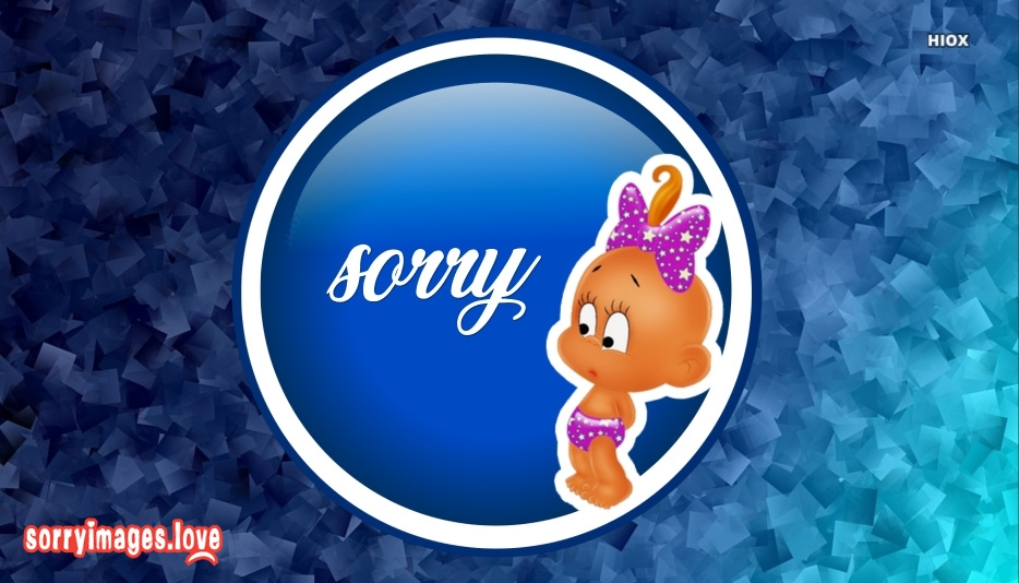 Sorry Cute Baby Images