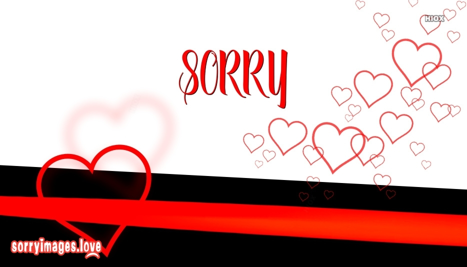 Sorry With Heart Image