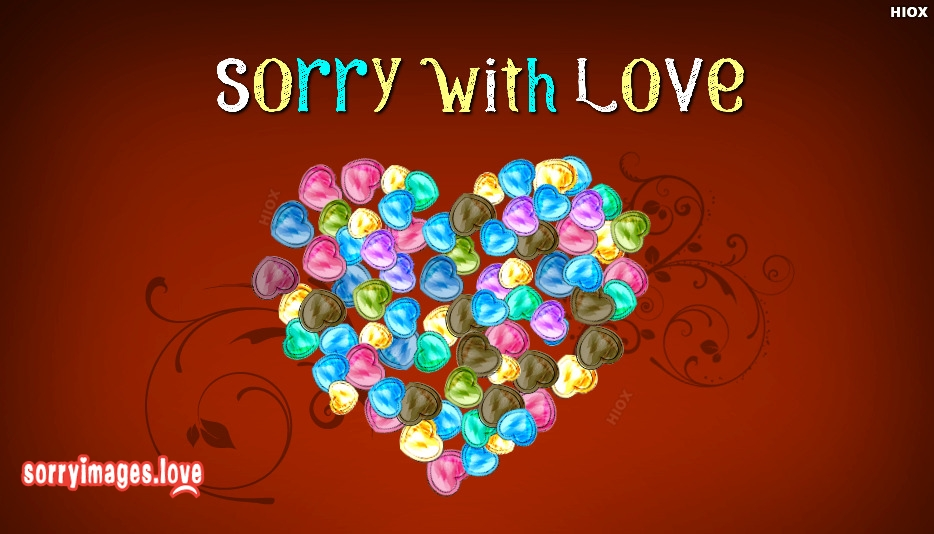 Sorry With Love Images