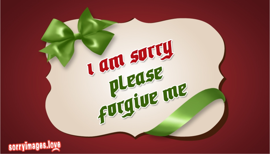 Sorry Images for Apology