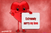 Extremely Sorry My Love Image