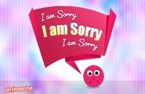 I Am Truly Sorry For My Words And Actions