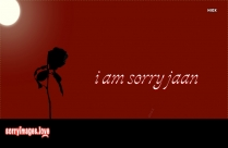 I Am Sorry Jaan Wallpaper
