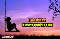 I Am Sorry Please Smile Image