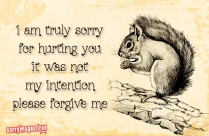 I Am Truly Sorry For Hurting You Quotes
