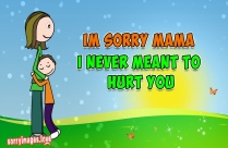 Mom And Dad I Am Sorry Image